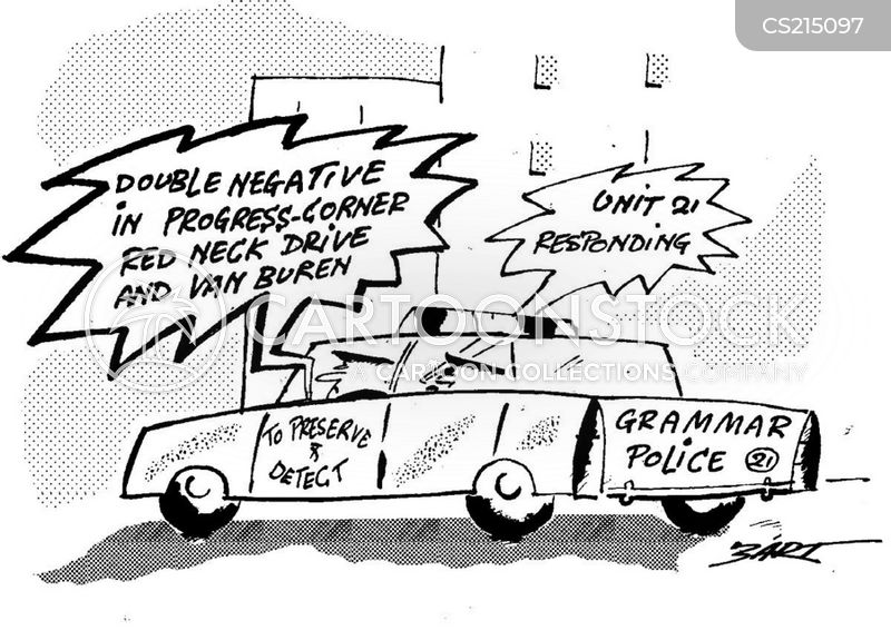 bad grammar cartoon