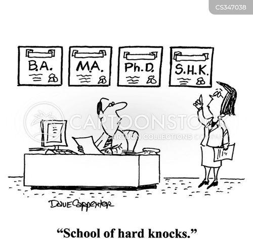 online degrees cartoon
