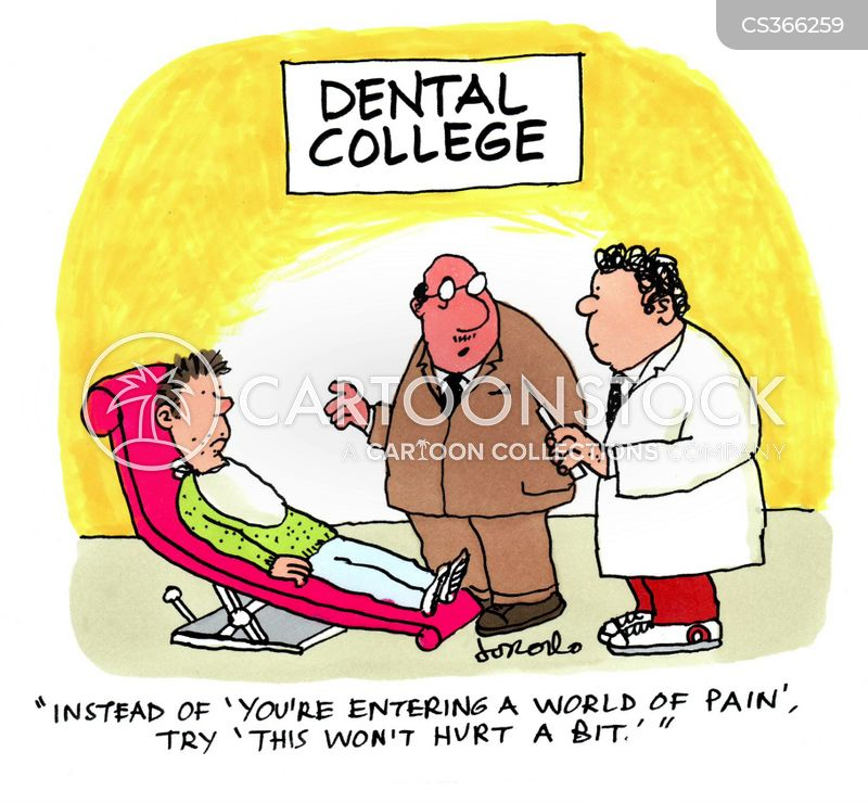Dentist phobia cartoons and comics funny pictures from - Funny dental pictures cartoons ...