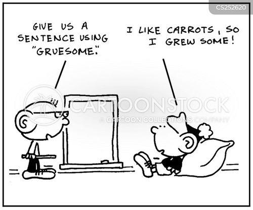 literacy classes cartoon
