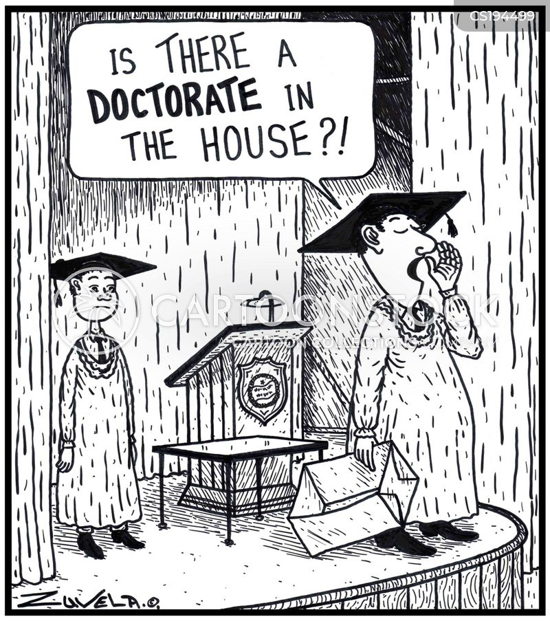 doctorates cartoon