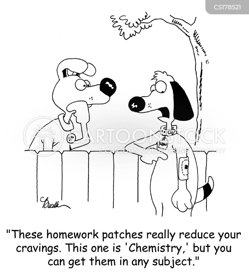 homework excuse cartoon