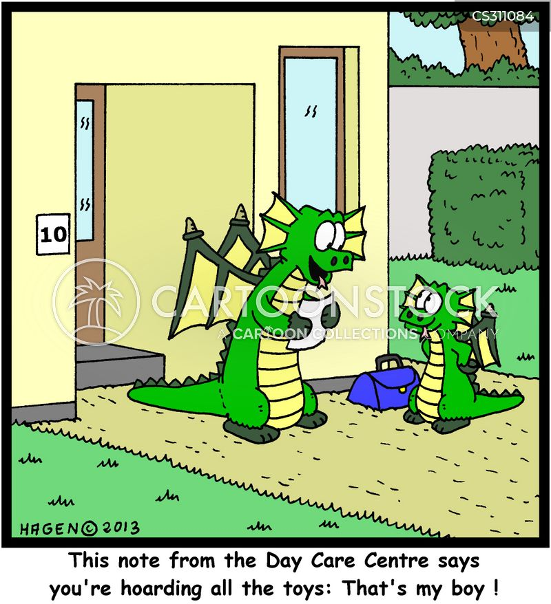 centres cartoon