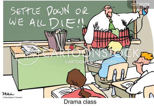 drama class cartoon