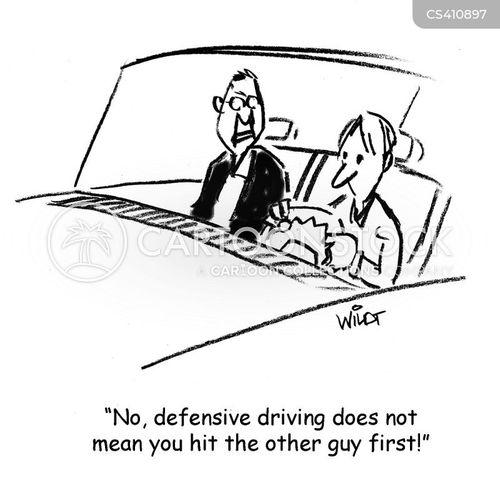 drivers ed cartoon