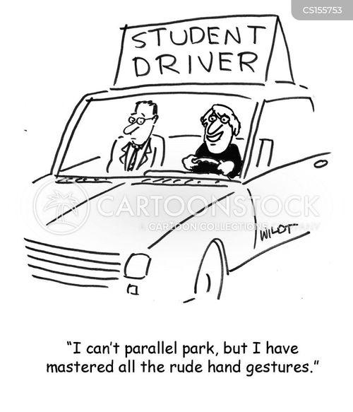 Driver's Education Cartoon 3
