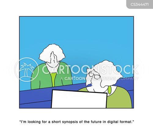 extra-sensory perception cartoon
