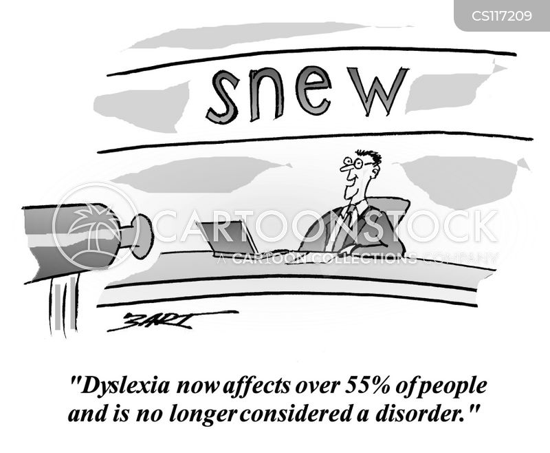 dyslexic cartoon