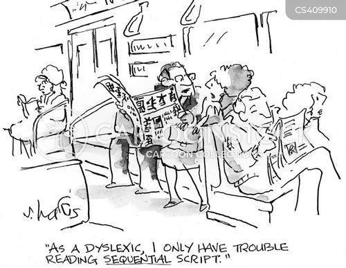 learning disability cartoon