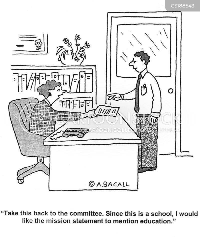 headteacher cartoon