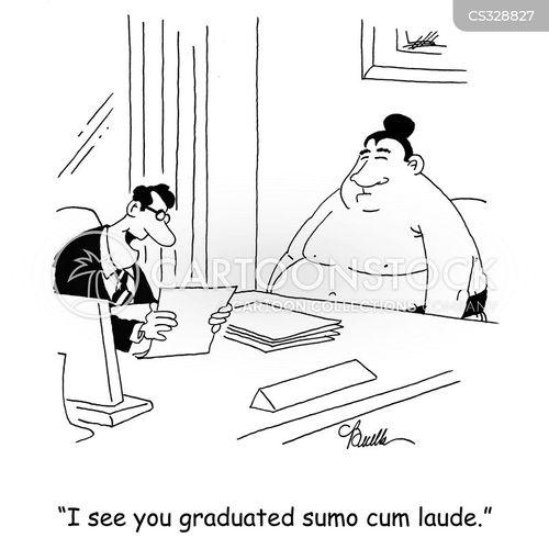 summa cum laude cartoon