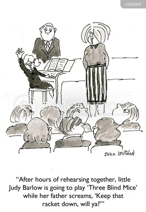 parental involvement cartoon