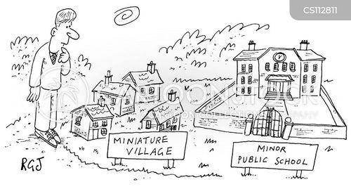 boarding school cartoon
