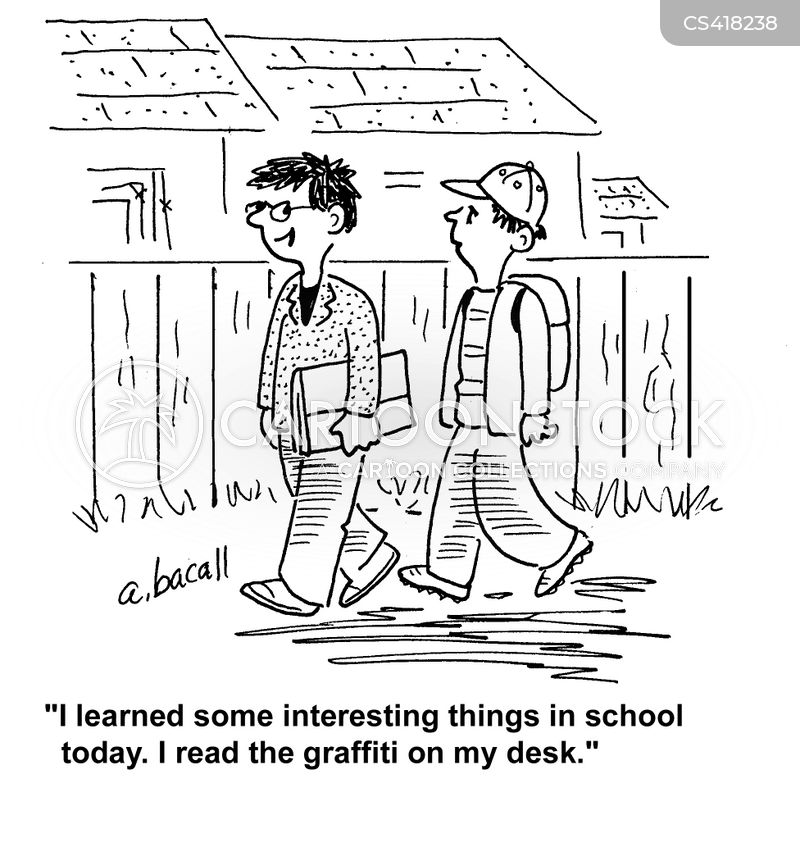 School Desk Cartoons and Comics - funny pictures from ...