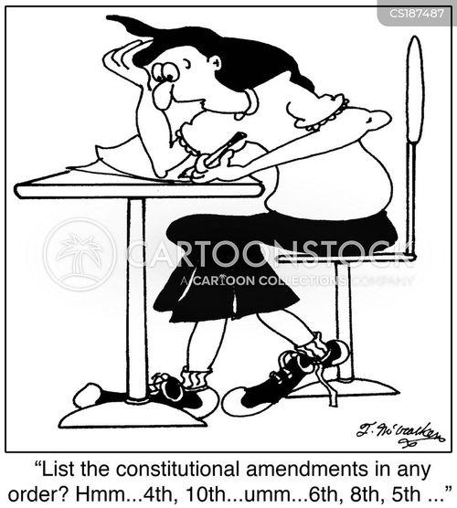constitutional amendments cartoon