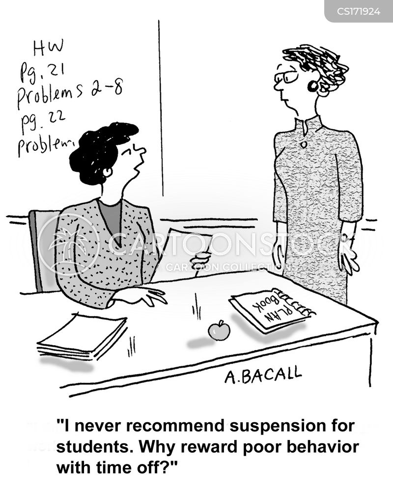 suspension cartoon
