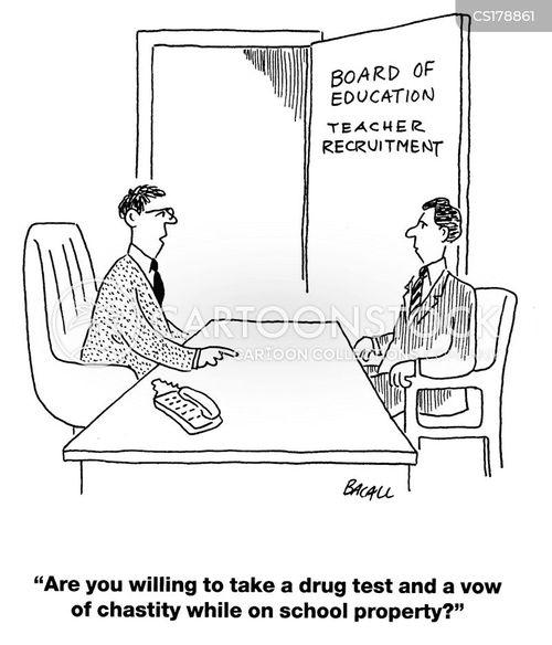 drug test cartoon
