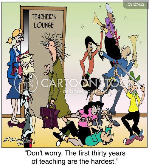staff room cartoon