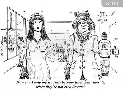 money-management cartoon