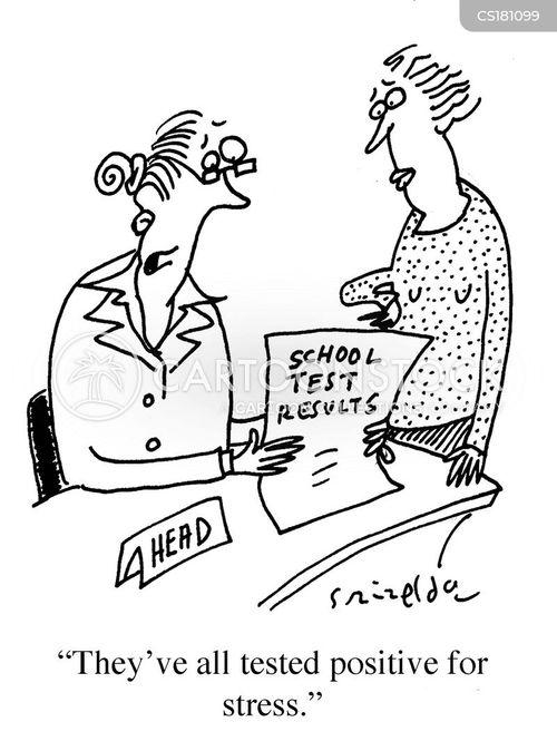 School Places Cartoons and Comics