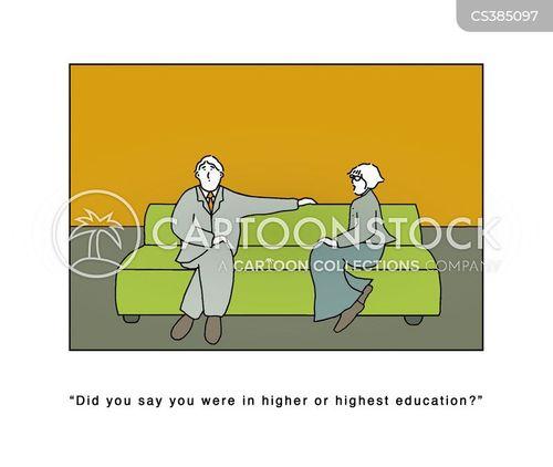 academic life cartoon
