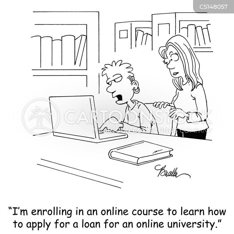 college application cartoon