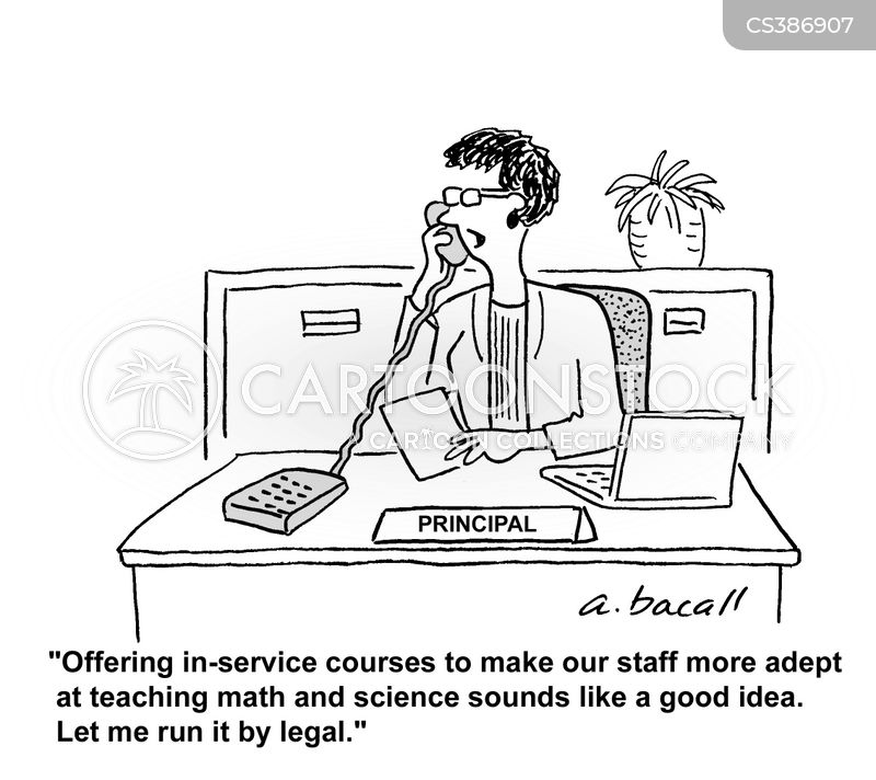 teaching staff cartoon