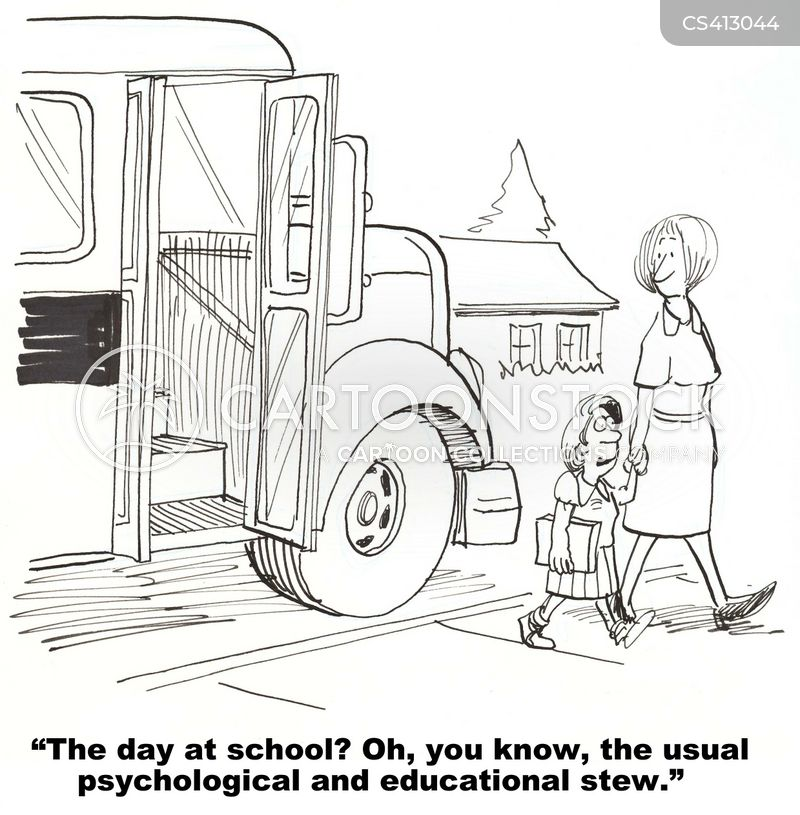 schoolday cartoon