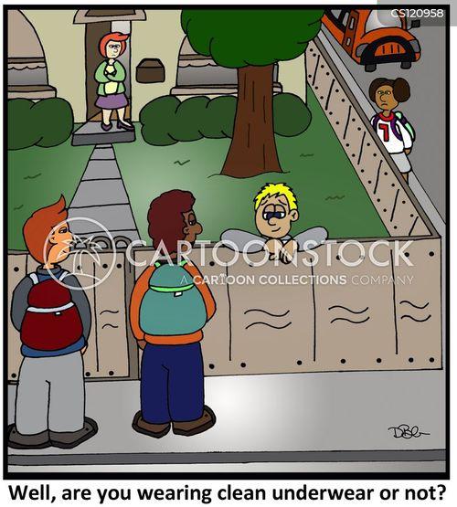school uniforms cartoon
