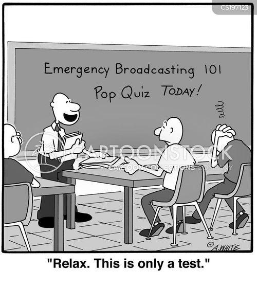 emergency broadcast cartoon