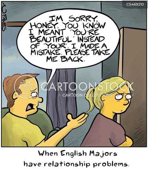 english majors cartoon