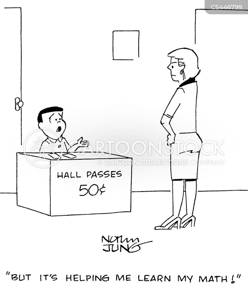 Hall Passes cartoons, Hall Passes cartoon, funny, Hall Passes picture, Hall Passes pictures, Hall Passes image, Hall Passes images, Hall Passes illustration, Hall Passes illustrations