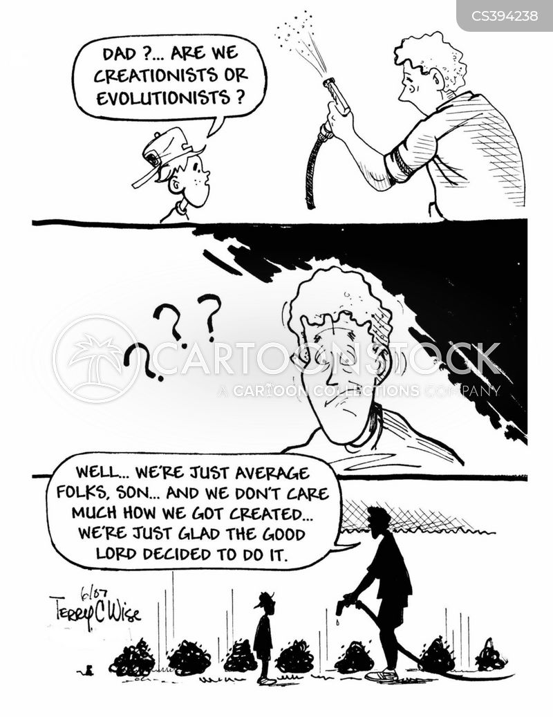 evolutionist cartoon
