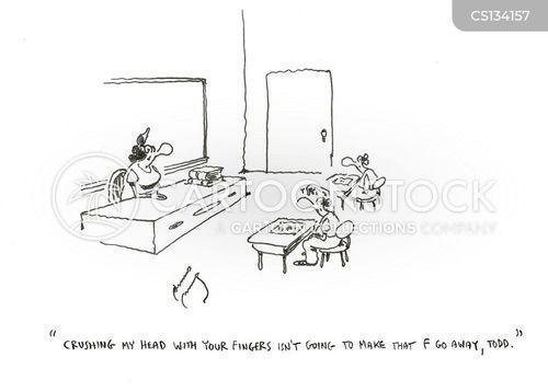f grades cartoon