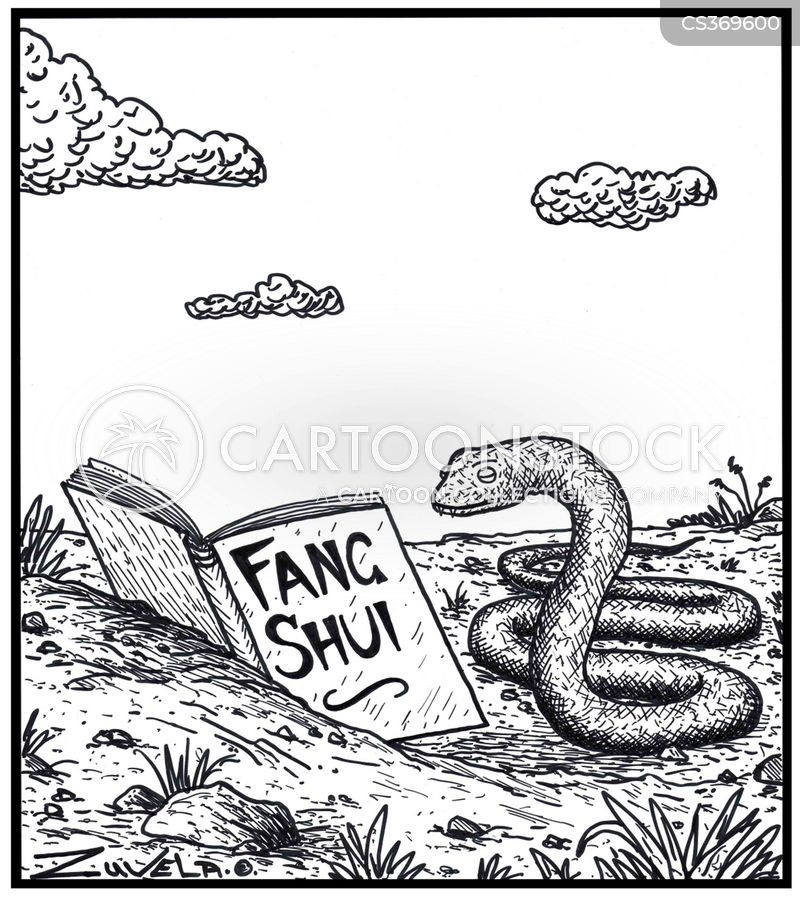 snake owner cartoon