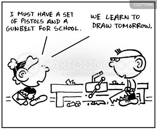 gunbelts cartoon