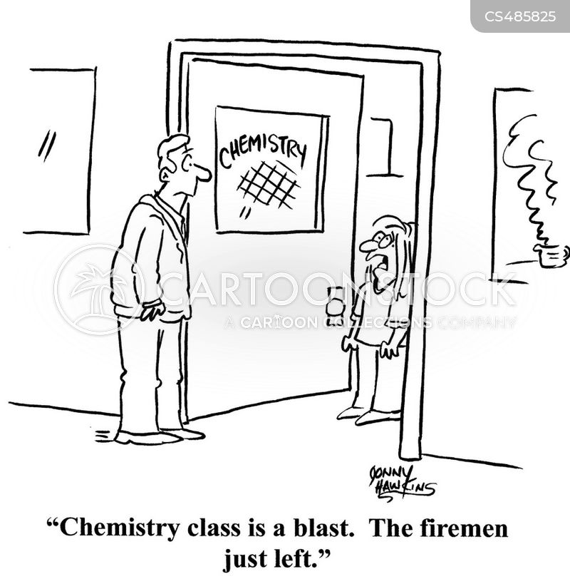 chemisty cartoon