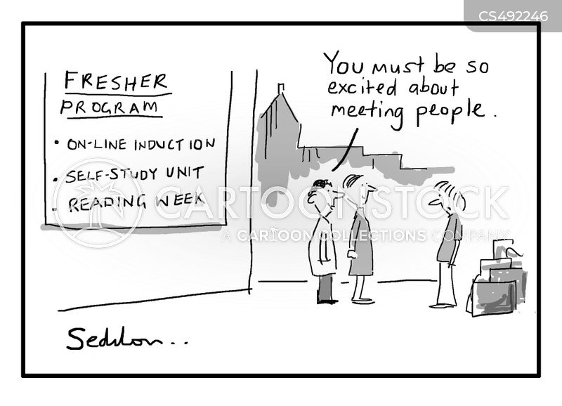 freshers cartoon