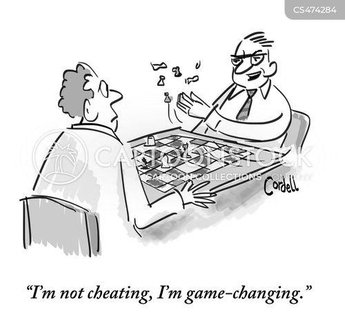 game changer cartoon