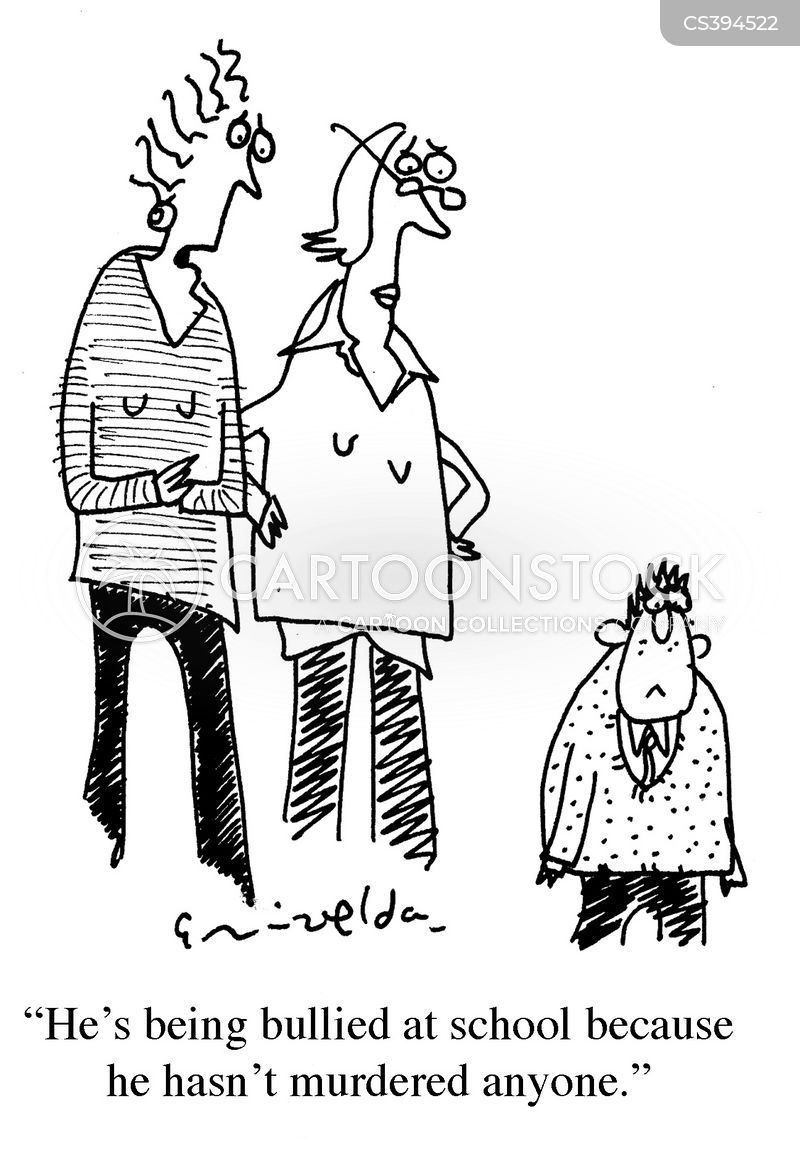 antisocial behaviour cartoon