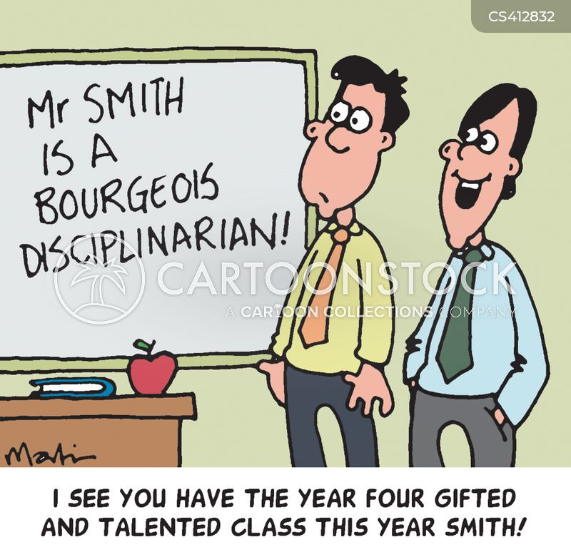 gifted and talented cartoon