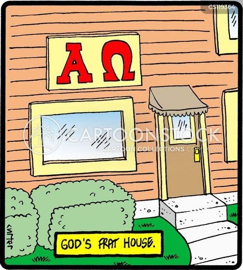 fraternity cartoon