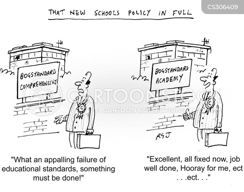 education policies cartoon