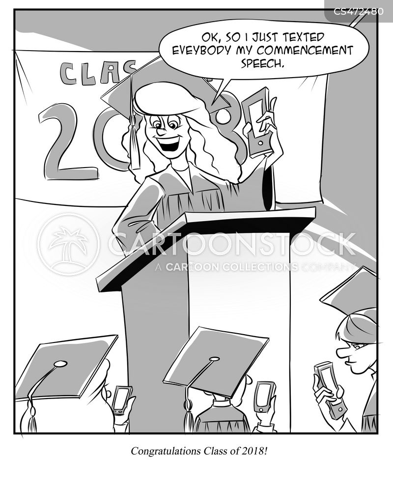 valedictorians cartoon
