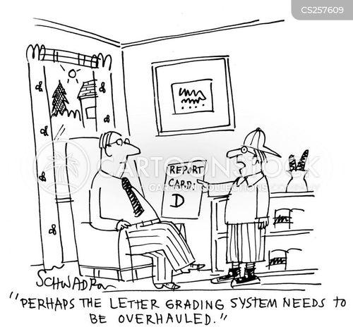 examined cartoon