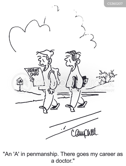 career in medicine cartoon
