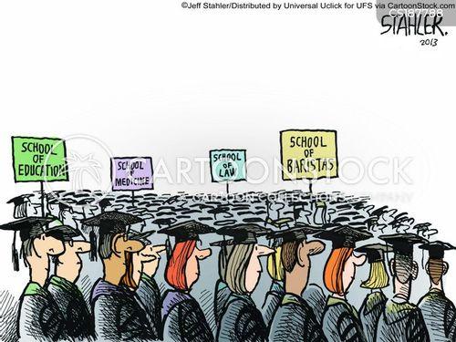 graduate jobs cartoon