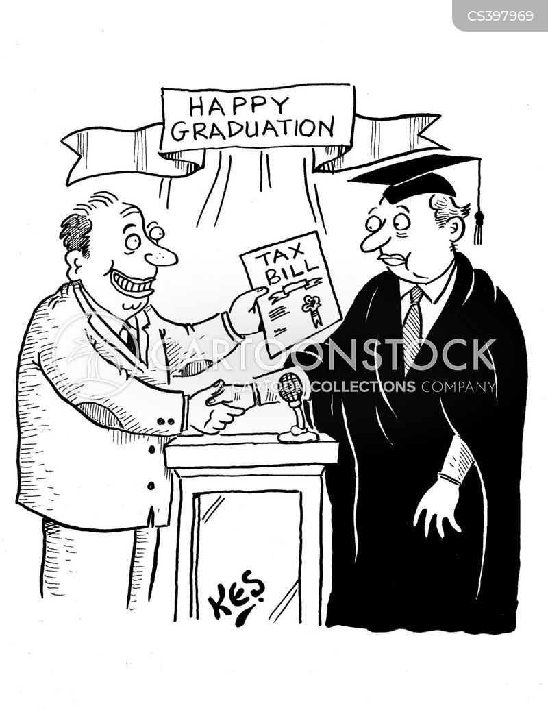 graduation day cartoon