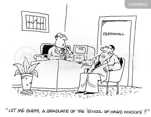 school of hard knocks cartoon