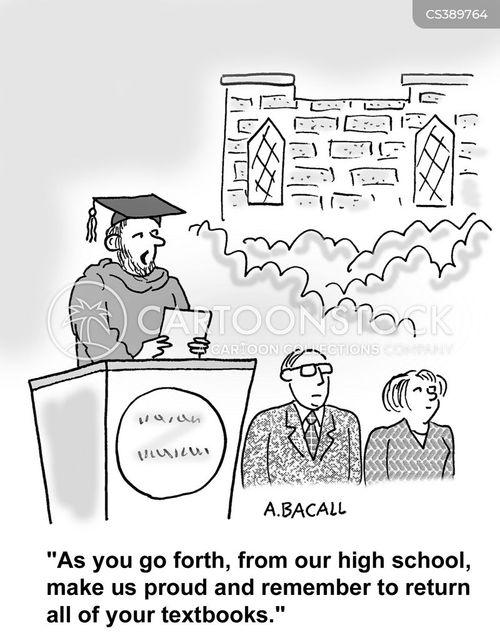 valedictorian cartoon